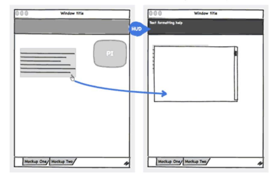 Specifying Interaction with Balsamiq