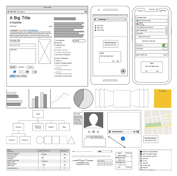 Clean Wireframes Option